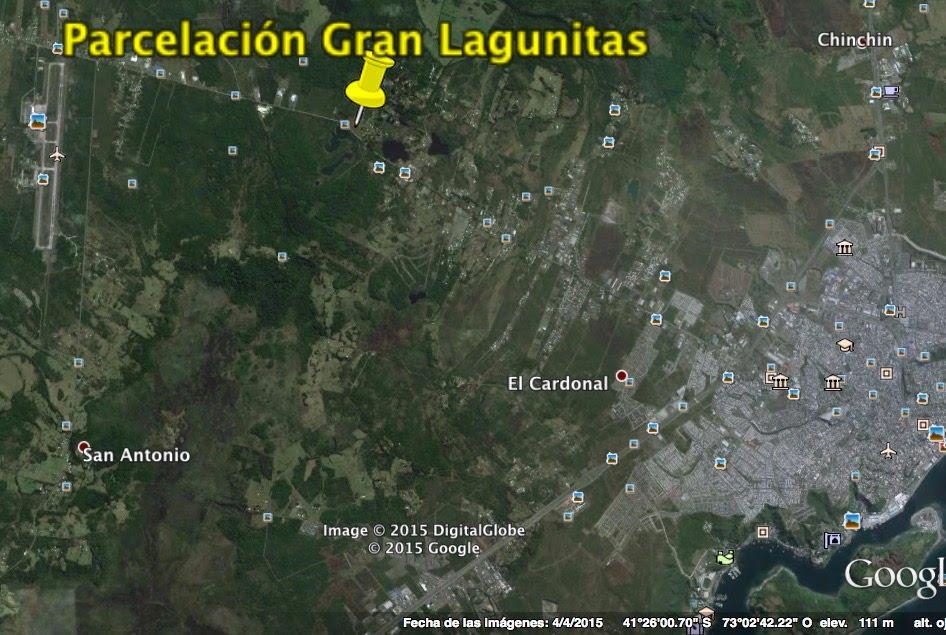 Puerto Montt - Gran Lagunitas - El Tepual - Parcelas Residenciales 0,5 hectáreas.